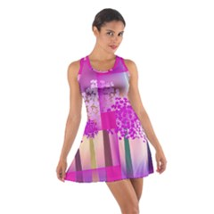 Abstract Forest Cotton Racerback Dress