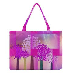 Abstract Forest Medium Tote Bag