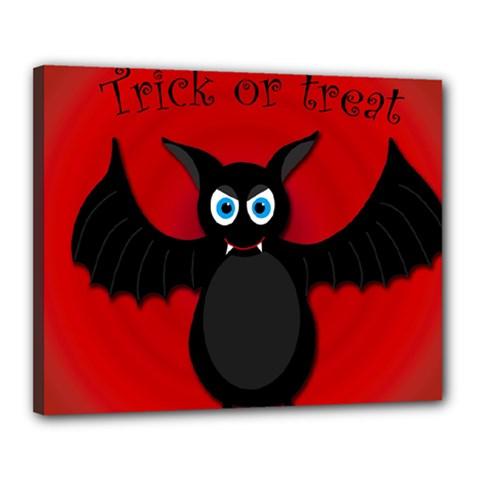 Halloween bat Canvas 20  x 16