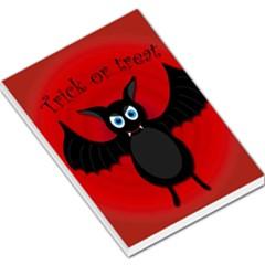 Halloween bat Large Memo Pads