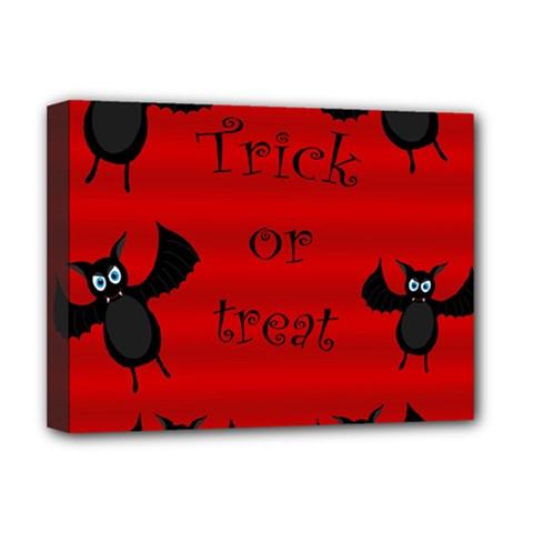 Halloween bats  Deluxe Canvas 16  x 12