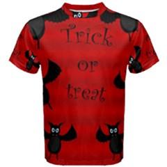 Halloween bats  Men s Cotton Tee