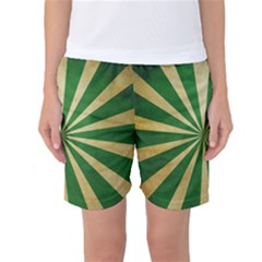 Colored Vintage Women s Basketball Shorts