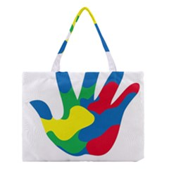 Creativity Painted Hand Copy Medium Tote Bag