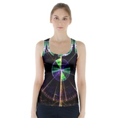 Abstract Radar Racer Back Sports Top