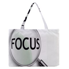 Focus Medium Zipper Tote Bag