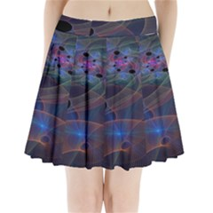 Abstraction Fractal Art Pleated Mini Skirt