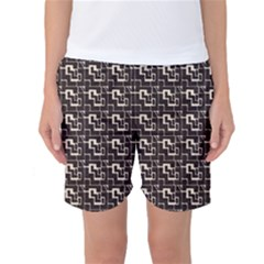 African Ethnic Patterns Women s Basketball Shorts