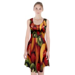 Fruit Salad Racerback Midi Dress