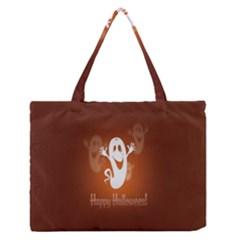 Funny Halloween Medium Zipper Tote Bag