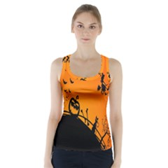 Halloween Day Racer Back Sports Top