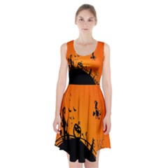 Halloween Day Racerback Midi Dress