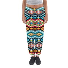 African Tribal Patterns Women s Jogger Sweatpants
