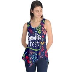 Hawaiian Paradise Fresh Sleeveless Tunic
