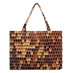 Honey Honeycomb Jpeg Medium Tote Bag