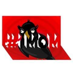 Halloween - old raven #1 MOM 3D Greeting Cards (8x4)
