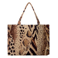 Animal Fabric Pattern Medium Tote Bag