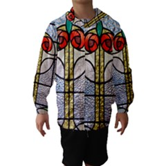 Antique Stained Glass Hooded Wind Breaker (Kids)