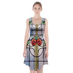 Antique Stained Glass Racerback Midi Dress