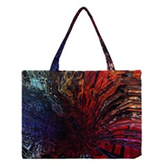 Architectural Fractal Pattern Medium Tote Bag