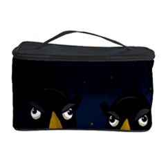 Halloween - black crow flock Cosmetic Storage Case