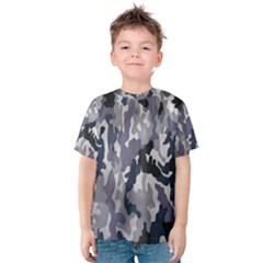 Army Camo Pattern Kids  Cotton Tee