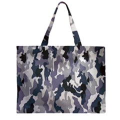 Army Camo Pattern Large Tote Bag