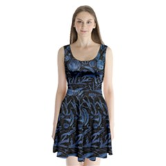 Art And Light Dorothy Split Back Mini Dress