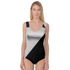 Black Grey Princess Tank Leotard