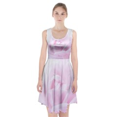 Pink Rose Racerback Midi Dress