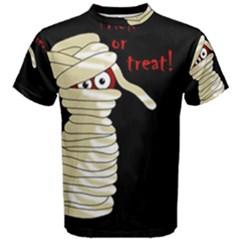 Halloween mummy   Men s Cotton Tee