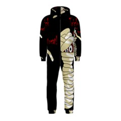Halloween mummy   Hooded Jumpsuit (Kids)