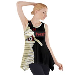 Halloween Mummy   Side Drop Tank Tunic
