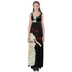 Halloween mummy   Empire Waist Maxi Dress
