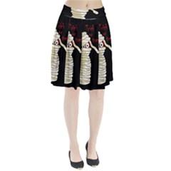 Halloween mummy   Pleated Skirt