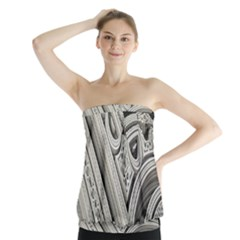 Arches Fractal Chaos Church Arch Strapless Top