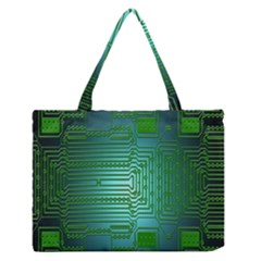 Board Conductors Circuits Medium Zipper Tote Bag