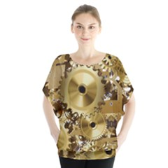 Clock Ball About Movement Time Blouse