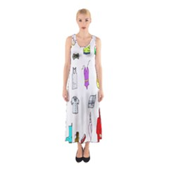Clothing Boots Shoes Shorts Scarf Sleeveless Maxi Dress