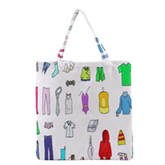 Clothing Boots Shoes Shorts Scarf Grocery Tote Bag