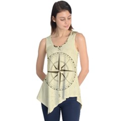 Compass Vintage South West East Sleeveless Tunic