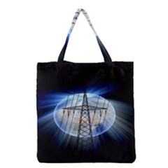 Energy Revolution Current Grocery Tote Bag