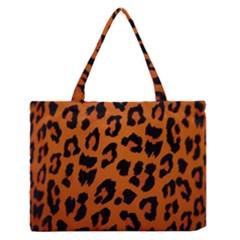 Leopard Patterns Medium Zipper Tote Bag