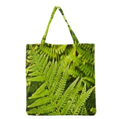 Fern Nature Green Plant Grocery Tote Bag