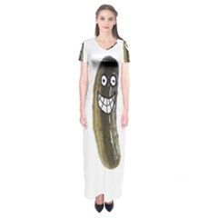 Pickleman1 Short Sleeve Maxi Dress