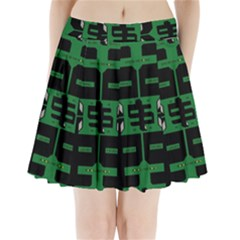 Show Me The Money Pleated Mini Skirt