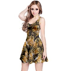Honey Bee Water Buckfast Reversible Sleeveless Dress