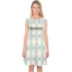 Lights Capsleeve Midi Dress