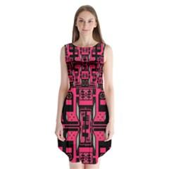 Hnhnhnhnhnhnhn Sleeveless Chiffon Dress
