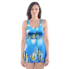 Pisces Underwater World Fairy Tale Skater Dress Swimsuit